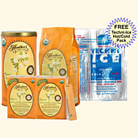 Tummy Fiber MIX KIT<br>Acacia Senegal<br>1 Can, 1 Refill Pouch<br>Travel Stick Packs (2 boxes)<BR><em>Diarrhea & Constipation</em> <font color=