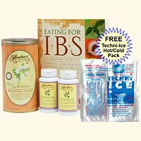IBS Diet Kit #2 Eating for IBS, Tummy Fiber Acacia CAN, Peppermint Caps <font color=