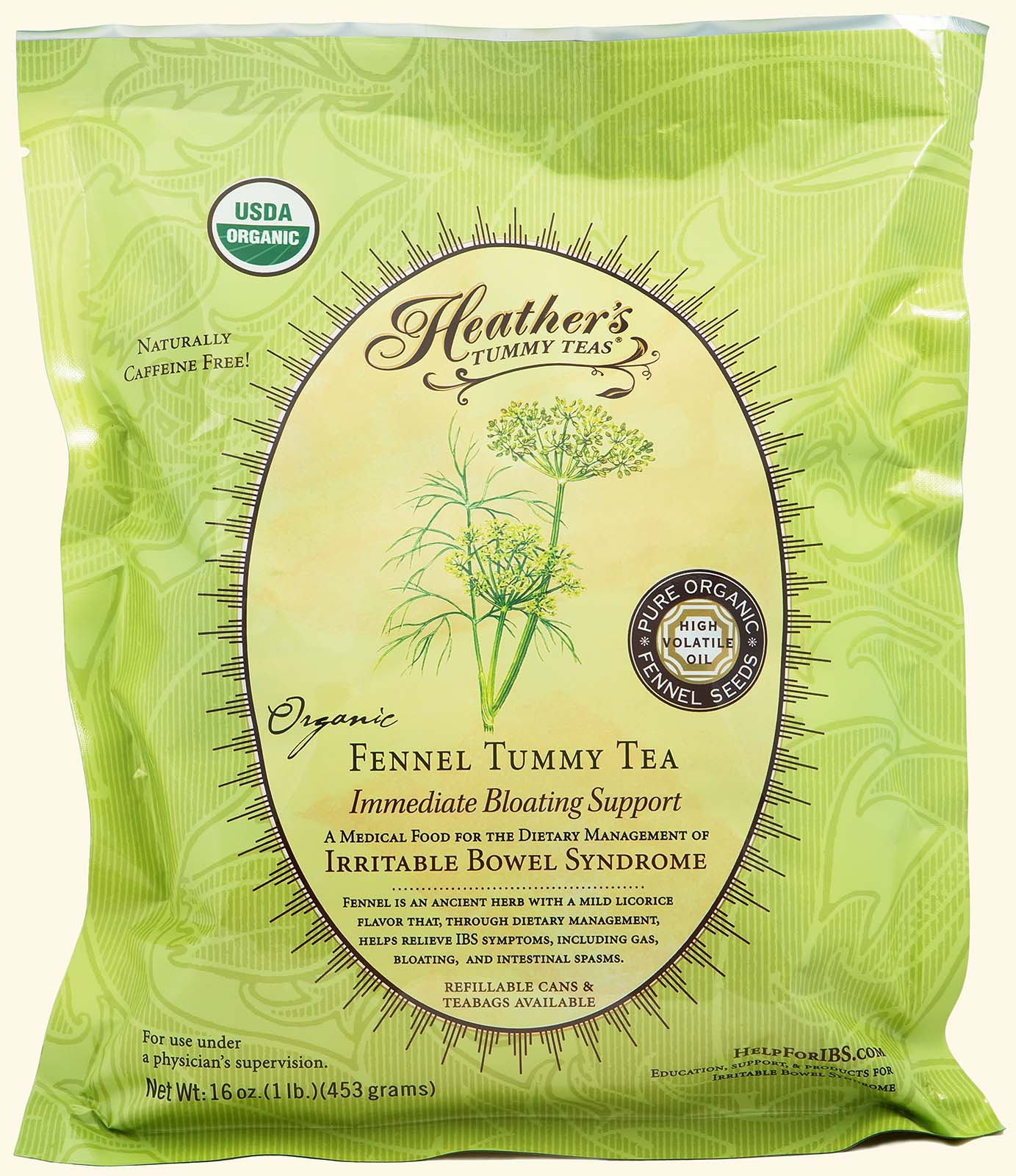 Fennel Tummy Tea LOOSE POUCH