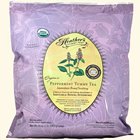 Peppermint Tummy Tea LOOSE 1lb. Refill Pouch <em>Pain & Spasms</em>